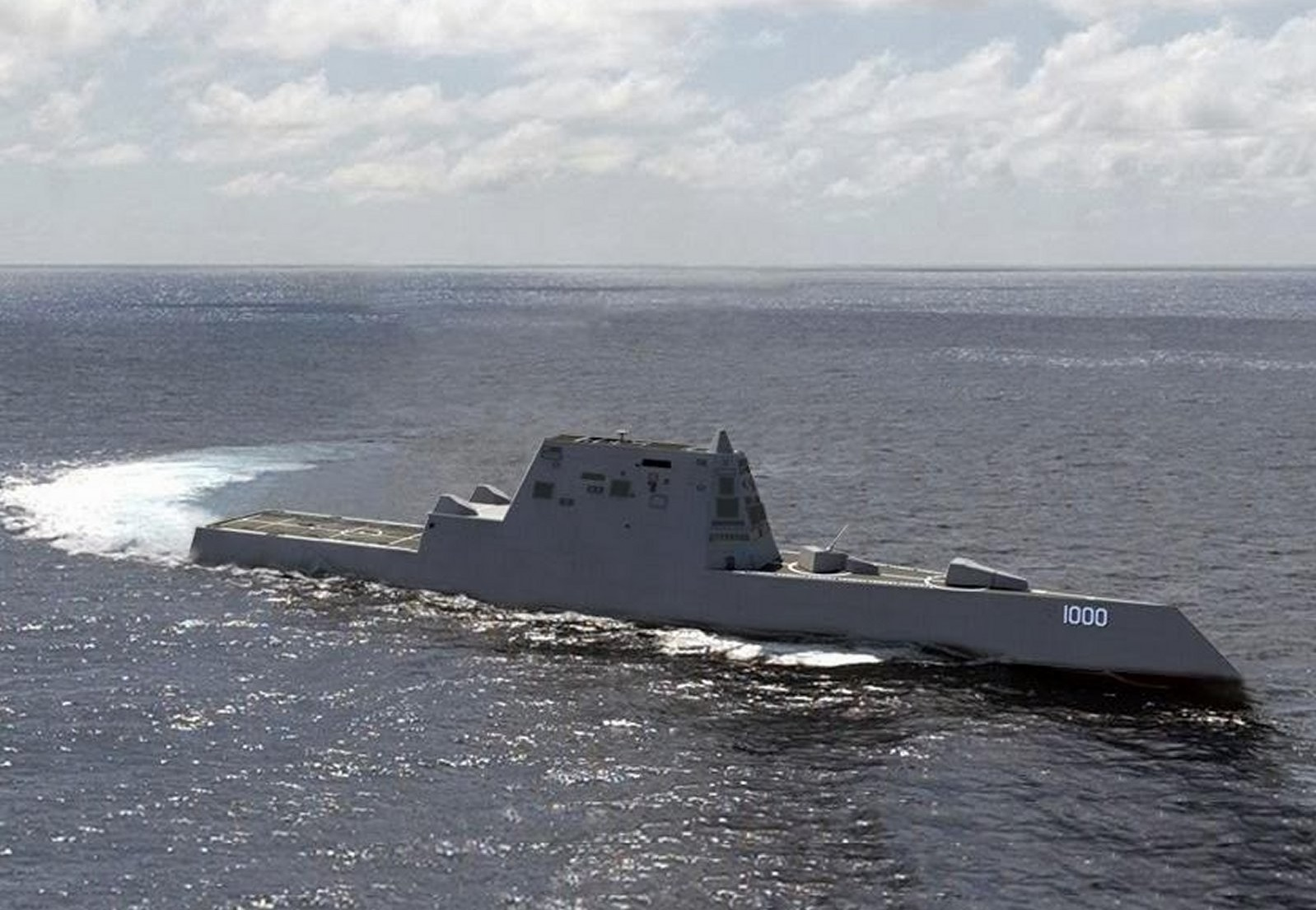 Navy to Christen Future USS Zumwalt, New Class of Destroyer