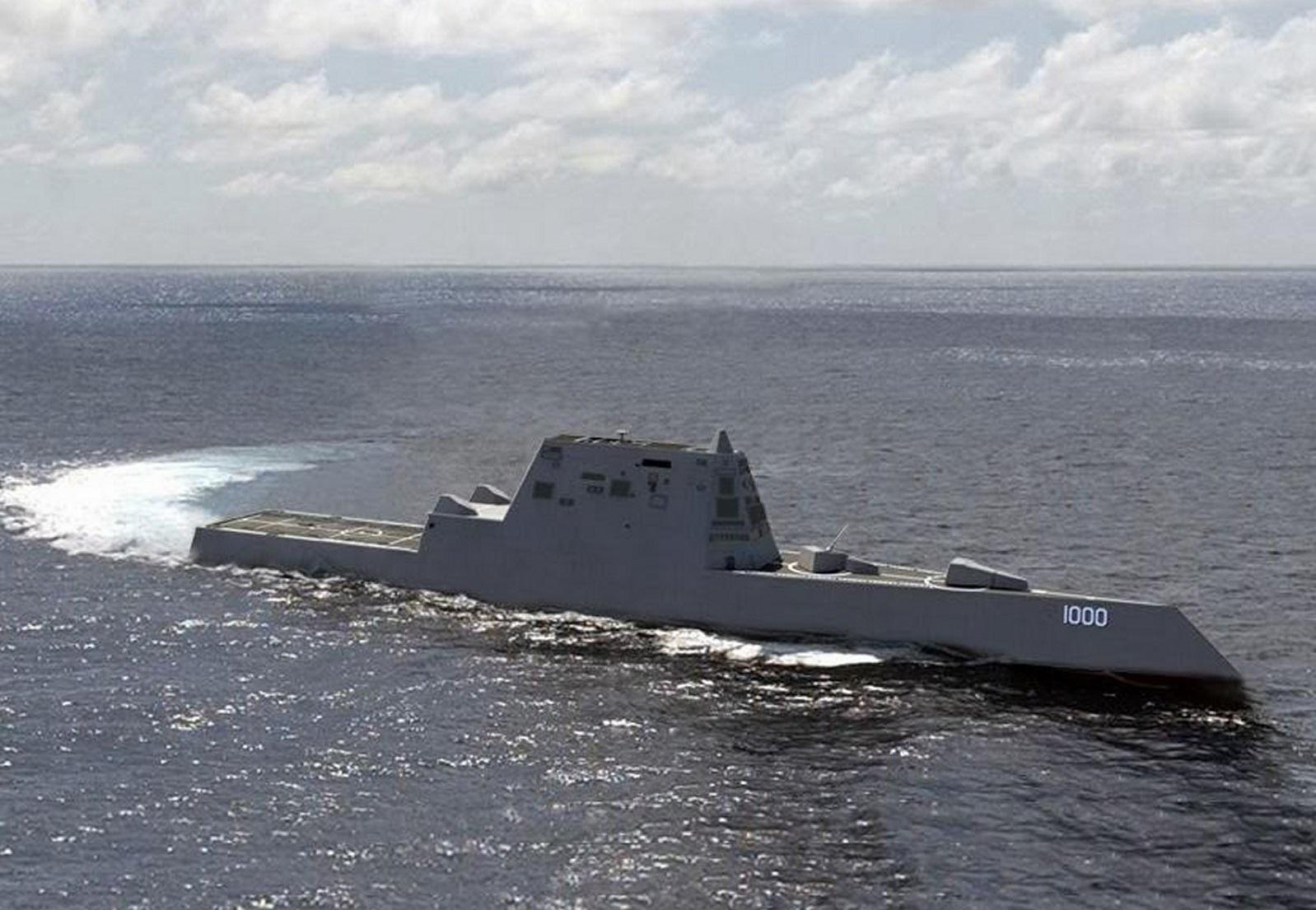 Navy to Christen Future USS Zumwalt, New Class of Destroyer