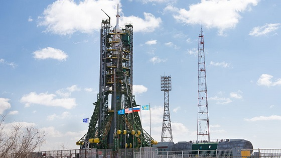 Soyuz Stands Ready at Launch Pad as Cargo Missions Line Up