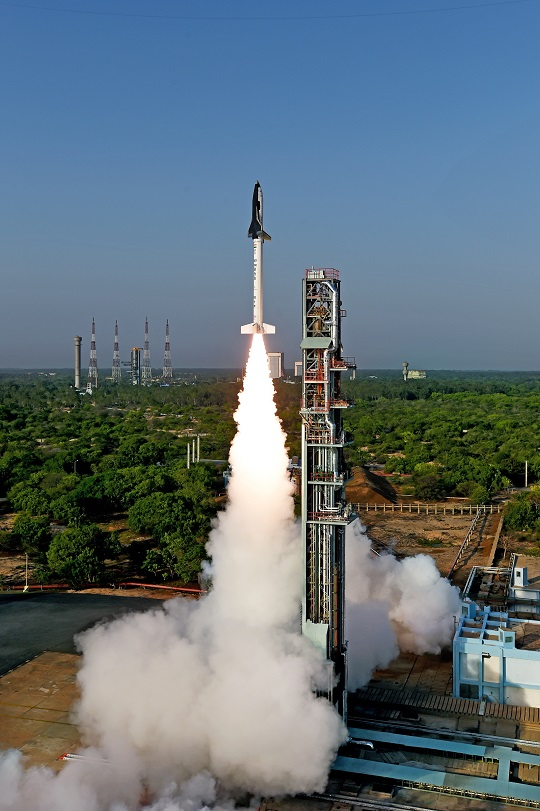 India RLV test