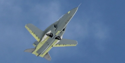 Russia's New Fighter Plane Has Backward Wings