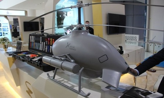 China has Armed Helicopter Drone