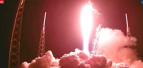 SpaceX Rocket Launches Satellite, But Can't Nail Drone Ship Landing