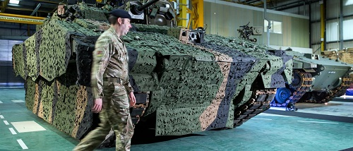 General Dynamics Land Systems-UK inaugurates new Armoured Fighting Vehicle facility