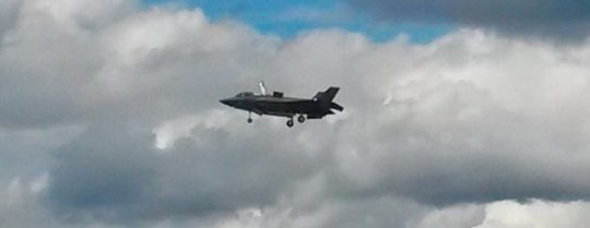 F-35 Captivates Crowds at Farnborough International Airshow