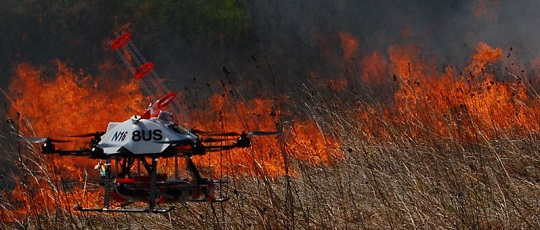Fireball Launching Drone Tested NPR All Tech Considered (Audio)