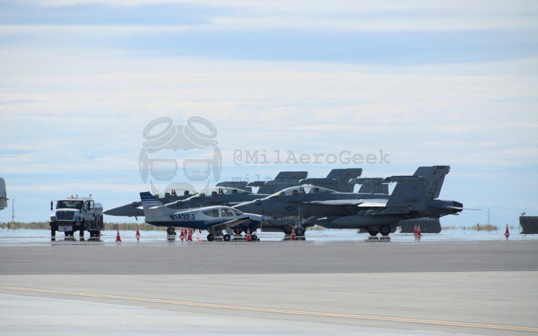 U.S. Navy EA-18G Growler VAQ-132 Scorpions